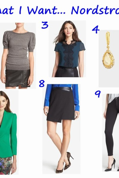 What I Want Wednesday… From the Nordstrom Sale