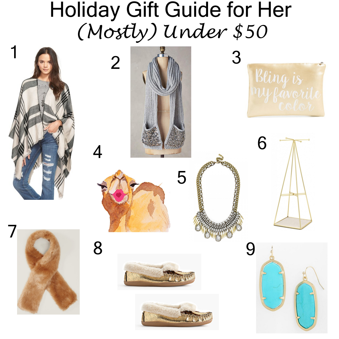 Cyber Monday & Holiday Gift Ideas for Her Under $50 ...