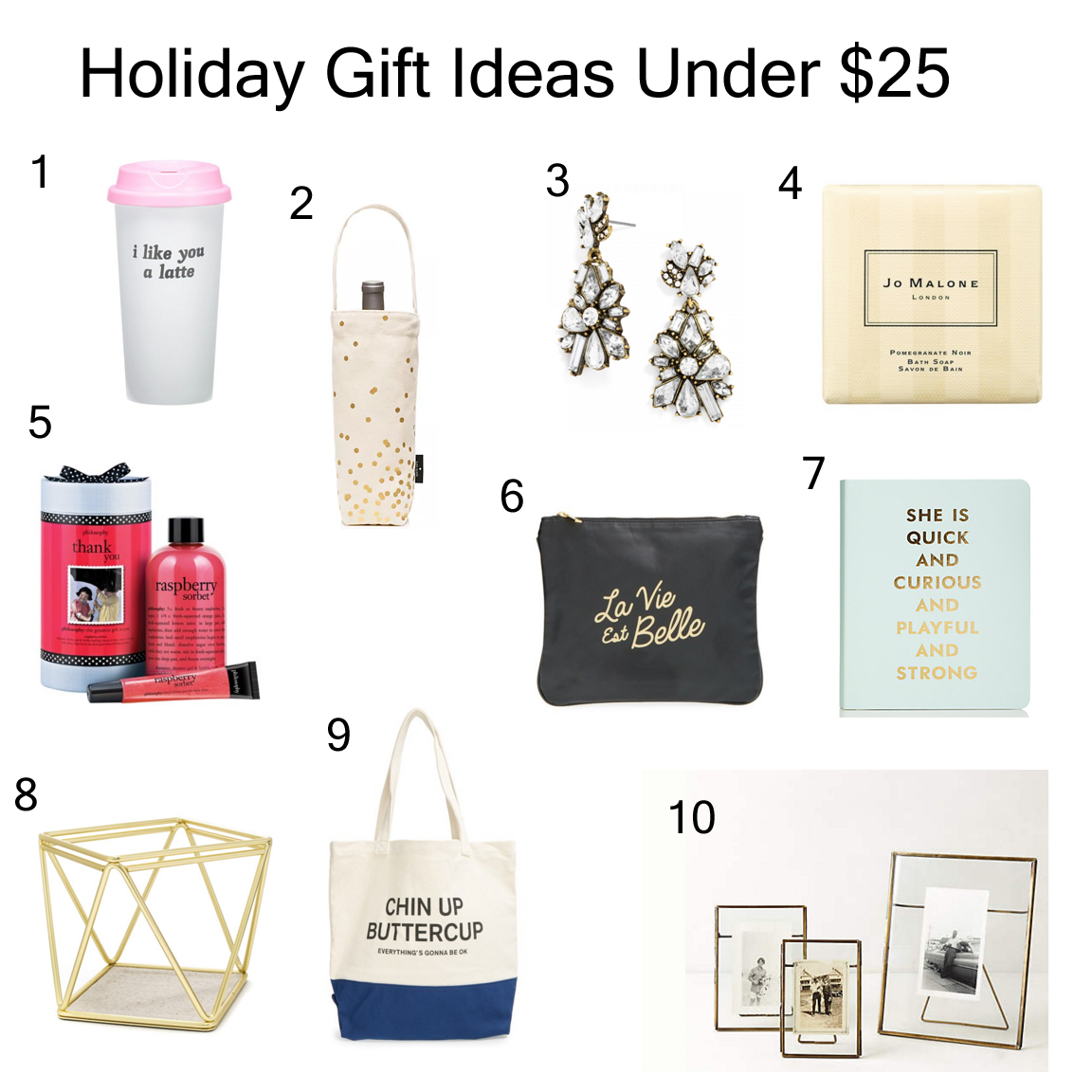 Holiday Gift Ideas Under 25 Nicole To The Nines