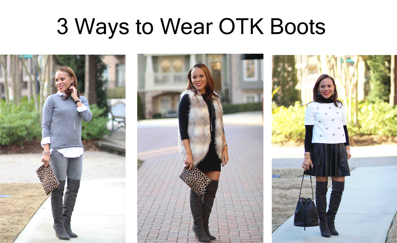 15440af06f4d 3 Ways to Wear Over the Knee Boots - Nicole to the Nines