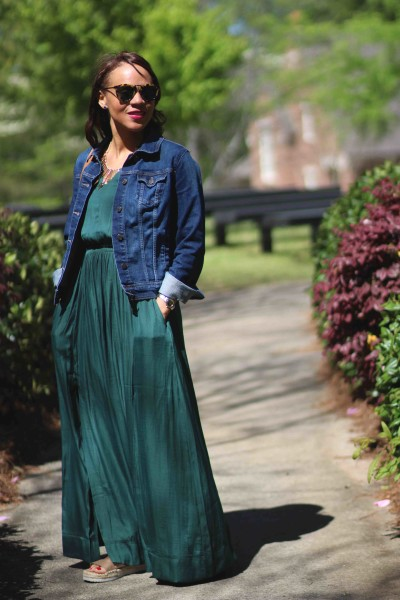 Casual Maxi Dress Outfit