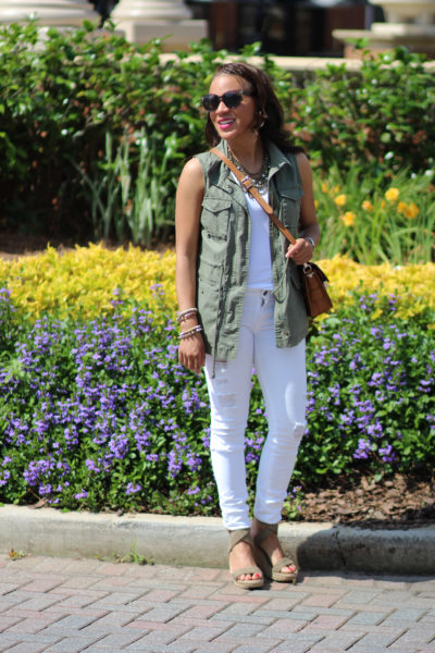 Why You Need A Green Military Vest in Your Closet