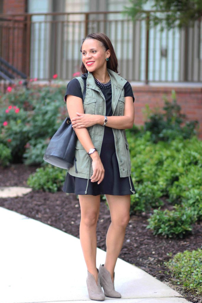 military vest outfit ideas