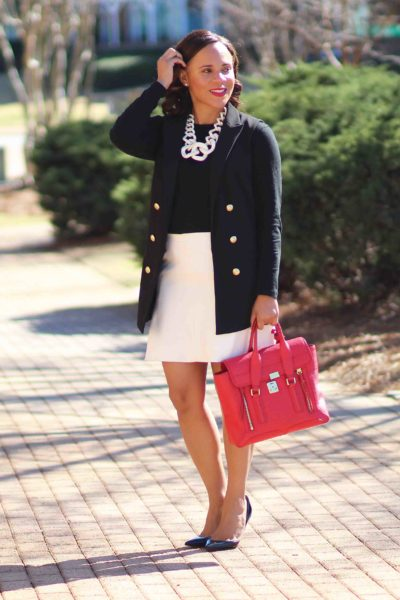 Black and White Business Casual Outfit