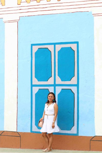 White Dress in Trinidad, Cuba