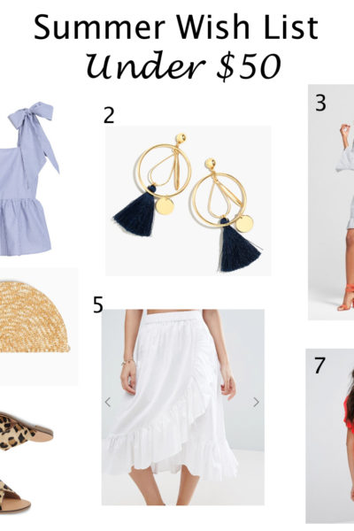 Summer Wishlist Under $50