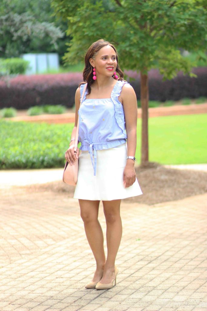 11e012baf6da Summer Business Casual Outfit - Nicole to the Nines