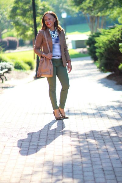 Styling Olive Green Pants for Work