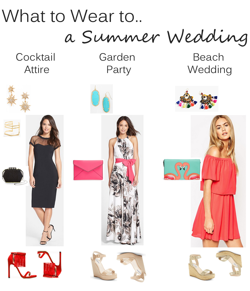 summer wedding guest outfit ideas  nicole to the nines