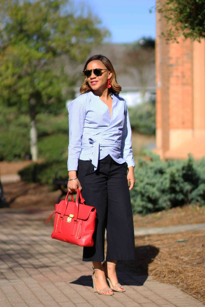 How To Wear Cropped Wide Legged Pants If You Are Short